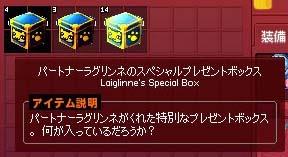大量のスペシャルプレゼントボックス