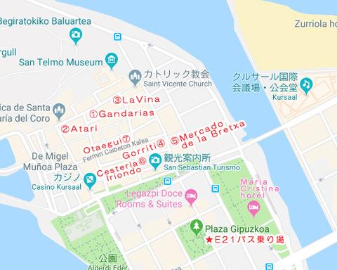 バスクmap