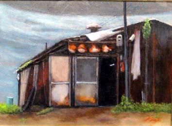 松浦・トタン屋根の家