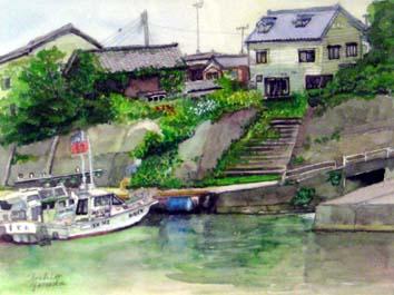 米田・橋立港