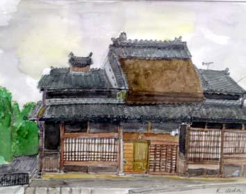 上田旧い家