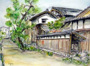 斉田・交野の風景