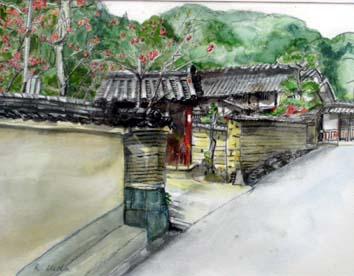 上田土塀の家(奈良)