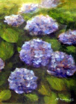 森本紫陽花