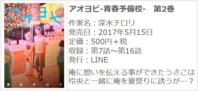 アオヨビ-青春予備校- 第2巻