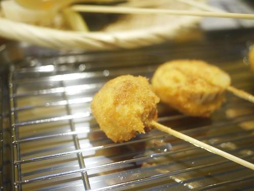 「ワカコ酒」豚ガリの串カツ