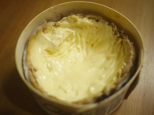 モンドールチーズ(食べかけ)