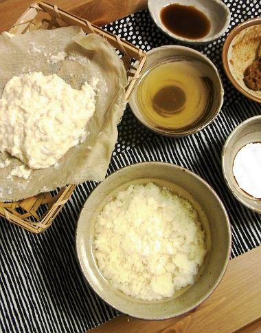 美味しんぼ 汲み出し豆腐とザル豆腐