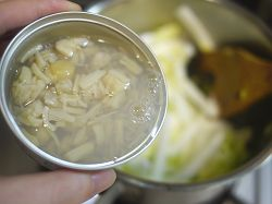 ホタテ貝柱の水煮缶