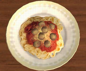 Sims2 スパゲティー