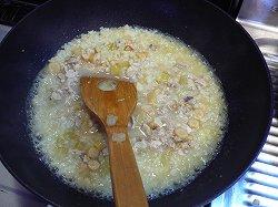 スープで煮込む2