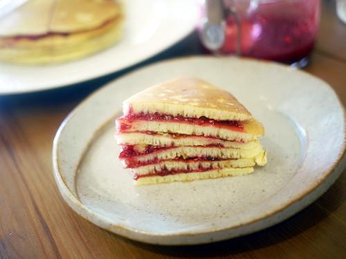 「日日べんとう」(佐野未央子)のもちもちケーキ