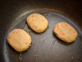 豆バーグ(焼く