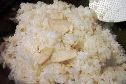 エリンギの炊き込みご飯