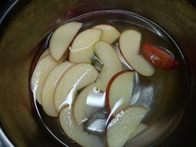 リンゴチーズ(工程)