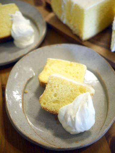 「きのう何食べた?」(よしながふみ)シロさんちふうシフォンケーキ
