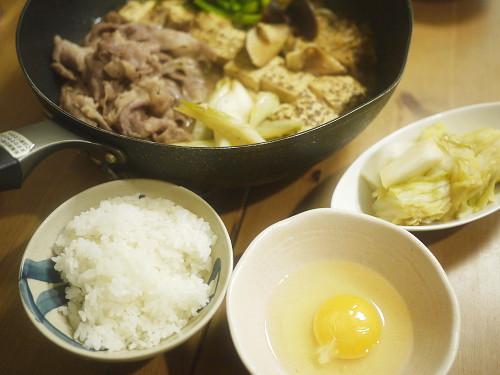 ご飯と生卵