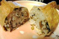 3月のライオン わさび漬けのいなり寿司