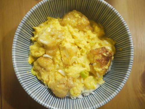 「深夜食堂」(安倍夜郎)の唐揚げ親子丼