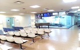 六地蔵総合病院内観