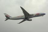 中華航空 A330 胡蝶蘭