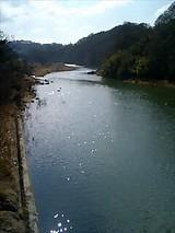 千曲川(戻り橋から見た)