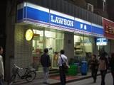 上海:南京路のローソン