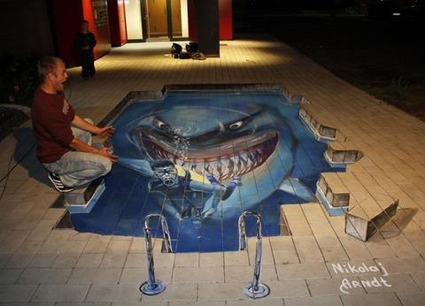 サメ 3D2