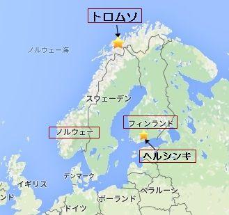 ヘルシンキ 地図1