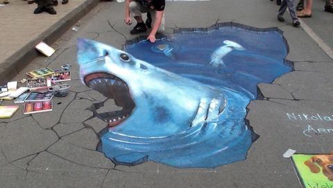 サメ 3D1