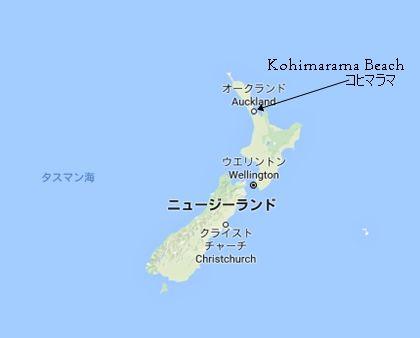 コヒマラマ海岸
