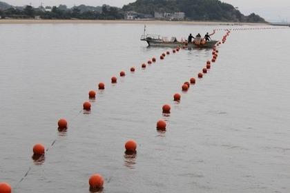 サメ 防御網