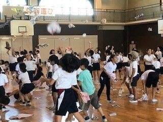 緑園東小学校マナーキッズ体幹遊び教室