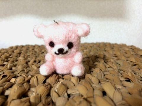 ダイソーの「羊毛フェルトアニマルキット クマ」