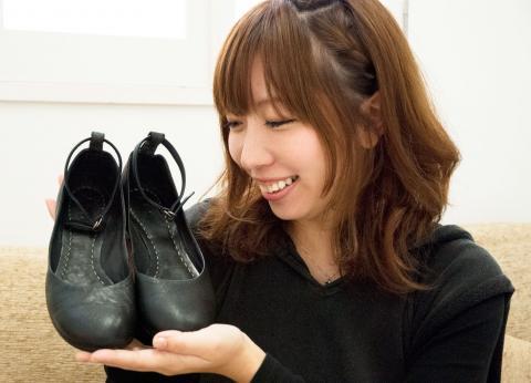 靴と女の子