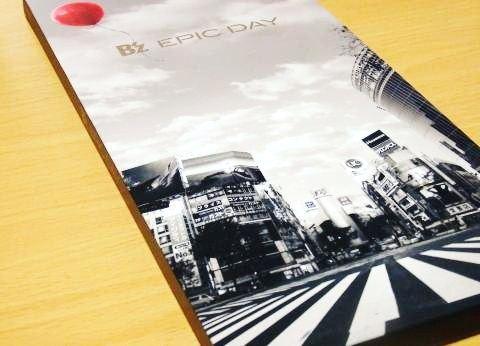 B'zニューアルバム『EPIC DAY』初回限定版