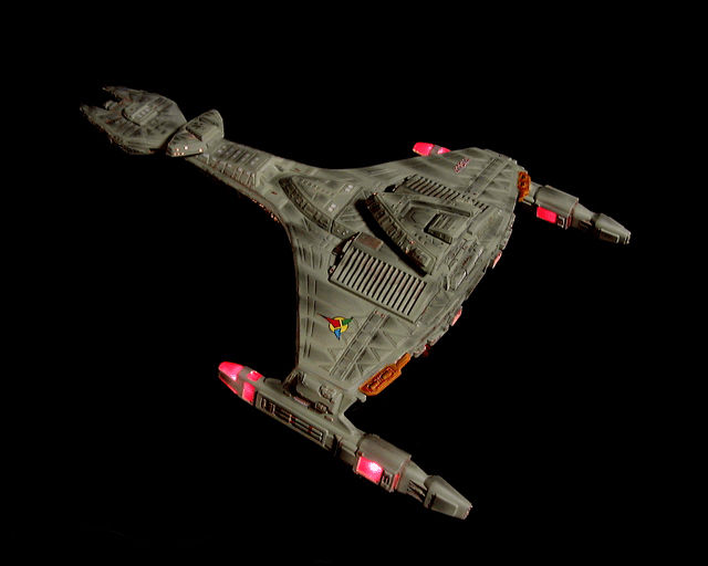 模型工房 : 昔の[Klingon Vor'ch...