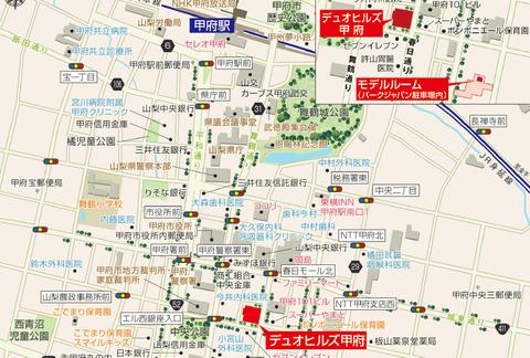 甲府 地図
