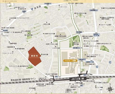 辻堂 地図