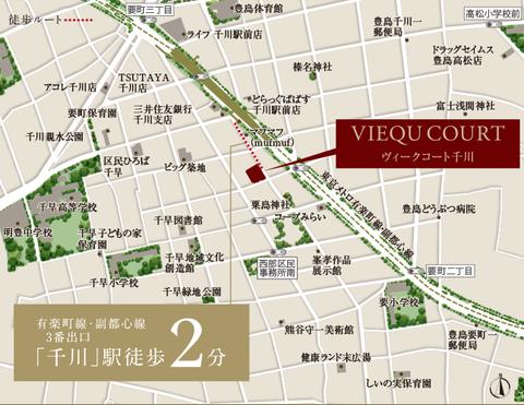 千川 地図