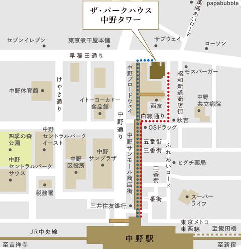 中野 地図