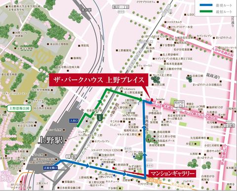 上野 地図