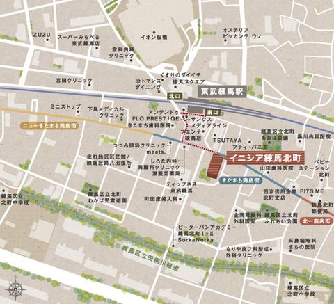 練馬 地図