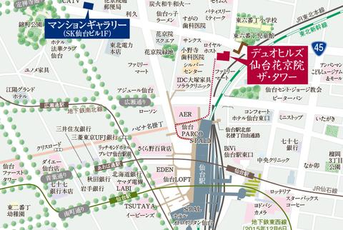 仙台 地図
