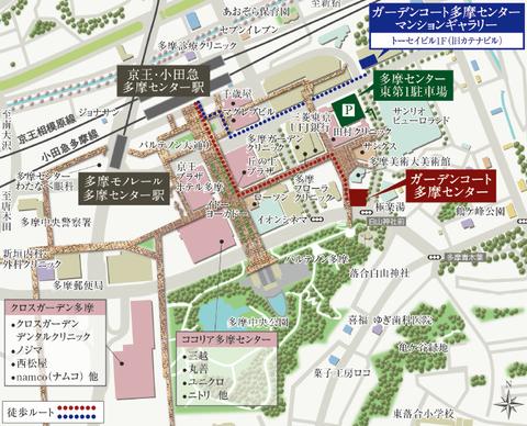 ガーデンコート 地図