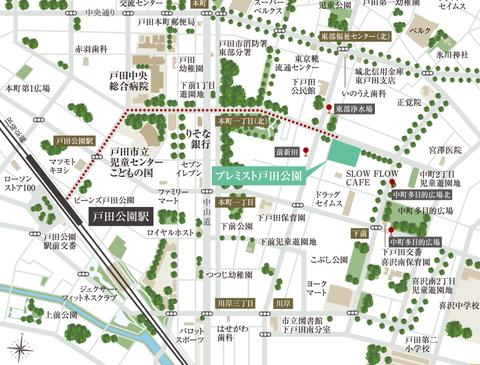 戸田公園 地図