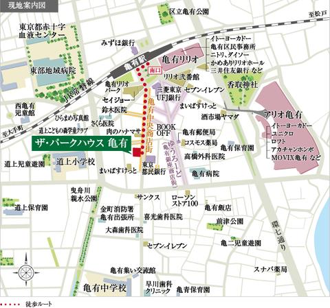 亀有 地図
