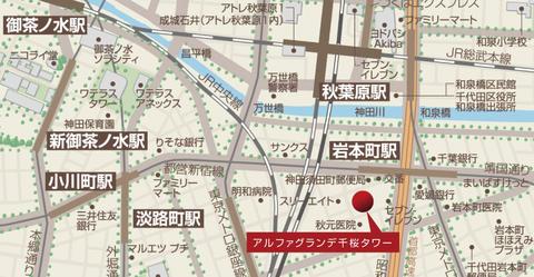 千桜 地図