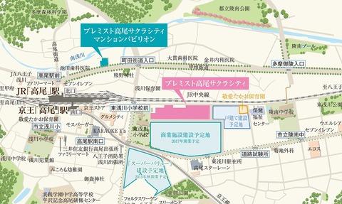 サクラシティ 地図