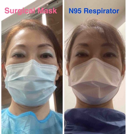 2020.12.12.surgical musk vs N95
